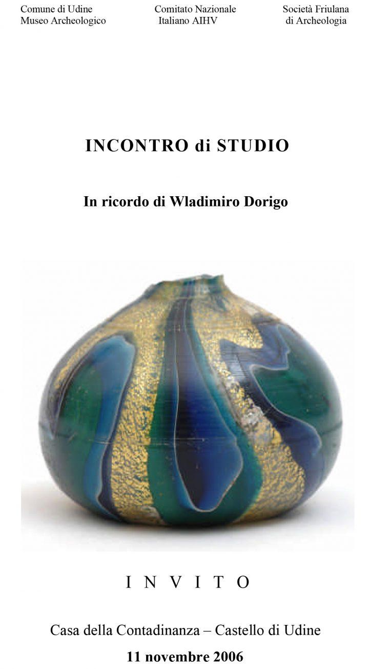 Incontro di studio in ricordo di Wladimiro Dorigo
