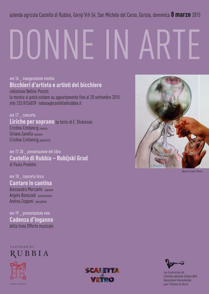 Mostra Bicchieri d'artista e artisti del bicchiere, San Michele del Carso (Gorizia) (patrocinio)
