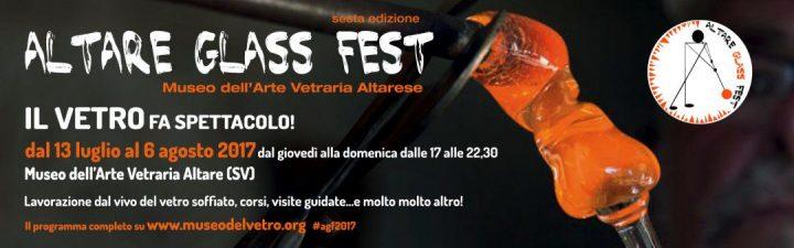 Altare Glass Fest - Museo dell'Arte Vetraria Altarese, Altare (SV), dal 13 luglio al 6 agosto 2017 (patrocinio)