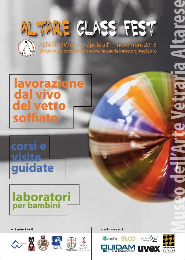 Altare Glass Fest 2018 - Museo dell'Arte Vetraria Altarese, Altare (SV)