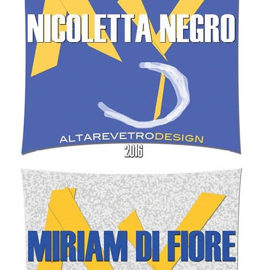 Altare Vetro Design - Altare Vetro d'Arte 2016 – 6° edizione 1 ottobre – 20 novembre 2016 – dedicati a Nicoletta Negro e Miriam Di Fiore (patrocinio)