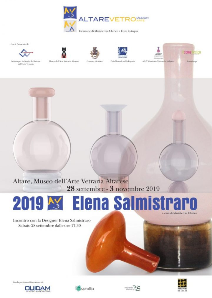 Altare Vetro Design 2019 – 9° edizione 28 settembre – 3 novembre 2019